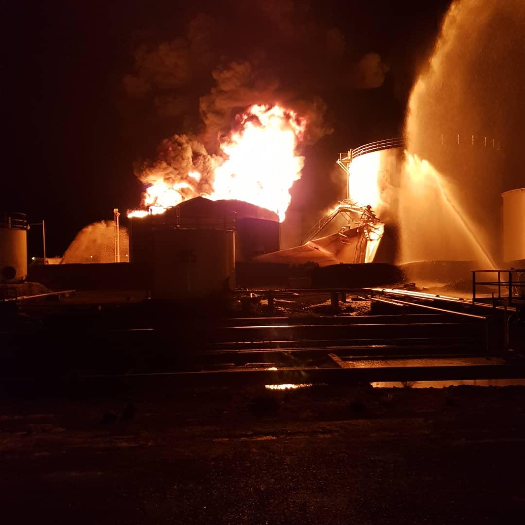 وردنا الان.. انفجار يهز مديرية البريقة بالقرب من مصافي عدن