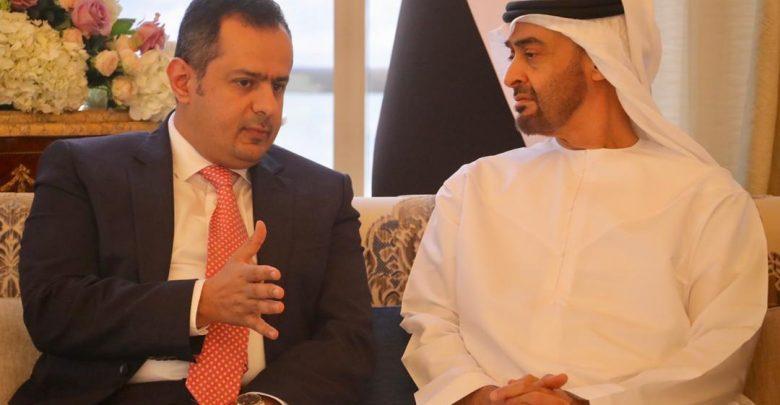 رئيس الوزراء : ناقشت مع ولي عهد أبو ظبي تطوير التعاون والشراكة بين البلدين الشقيقين