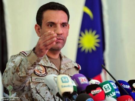 التحالف : أكثر من «600» صريع حوثي منذ نهاية مايو الماضي وحتى اليوم