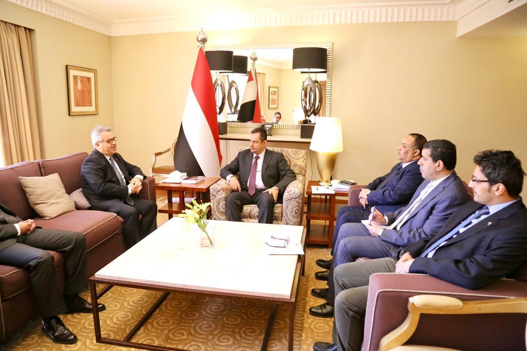 رئيس مجلس الوزراء يستقبل السفير التركي ويناقش معه مستجدات الأوضاع في اليمن