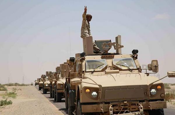 قوات عسكرية ضخمة تابعة للشرعية تتوجه الآن إلى هذه المحافظة الشمالية وتوقعات يتحريرها (تفاصيل طارئة)