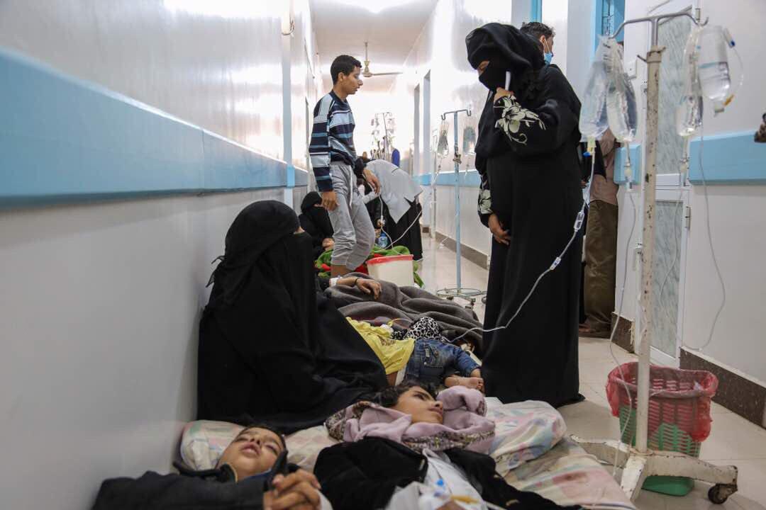 أوكسفام: 195 ألف حالة يشتبه إصابتها بالكوليرا في اليمن خلال 2019