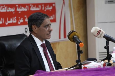محافظ حضرموت يكلف مدراء جدد لشركة النفط والكهرباء ومكتب حقوق الإنسان